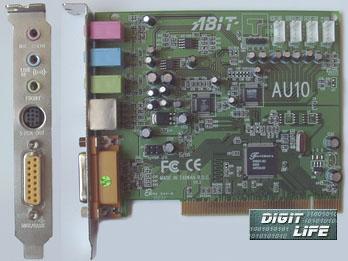 fortemedia fm801 audio controller pci