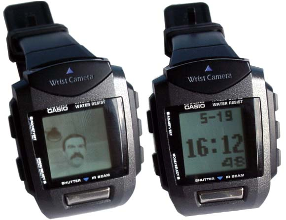 Casio Wrist Camera Watch