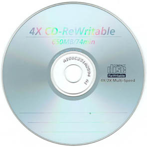 How to overwrite a burnt CD-R?