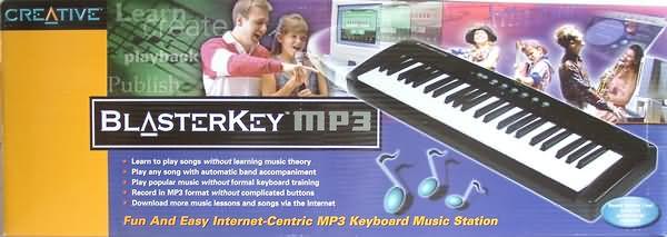 MIDI Keyboard Creative BlasterKey MP3
