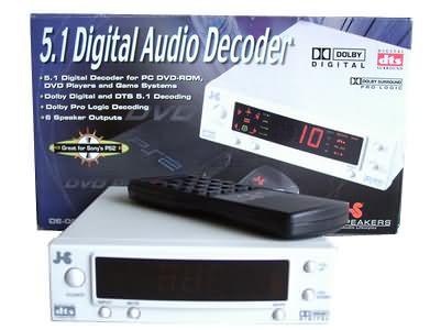 External Dd5 1 Dts Decoder Jazz Speakers De 005